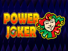 Игровой атомат Power Joker